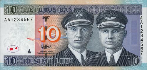 Mano mėgstamiausias litų banknotas